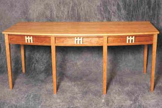 east-west writing desk